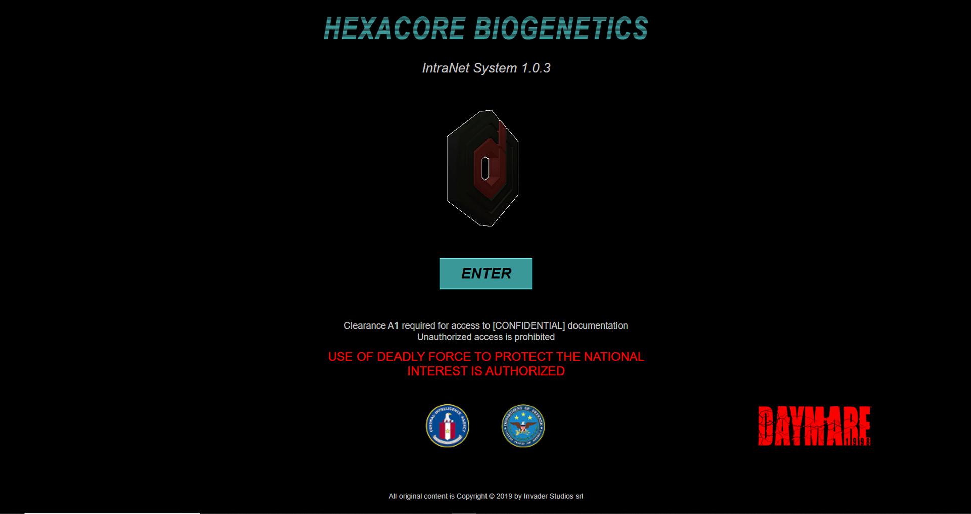 Hexacore Biogenetics - Gianluca De Bianchi - Jeanzilla