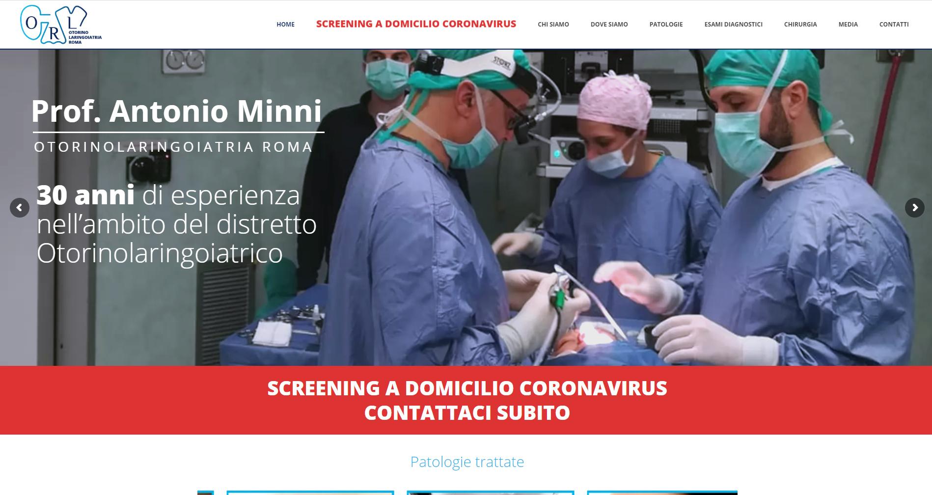 Otorinolaringoiatriaroma.com - Antonio Minni - Gianluca De Bianchi - Jeanzilla