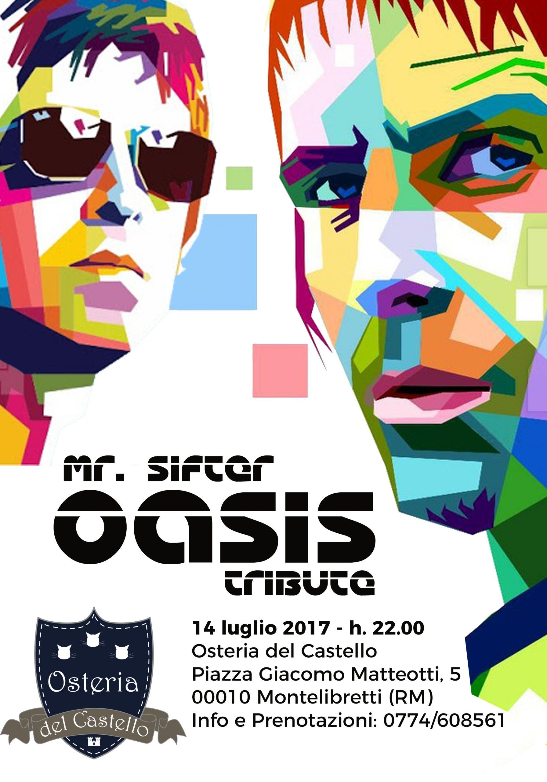 Mr Sifter - Oasis Tribute - Gianluca De Bianchi - Jeanzilla