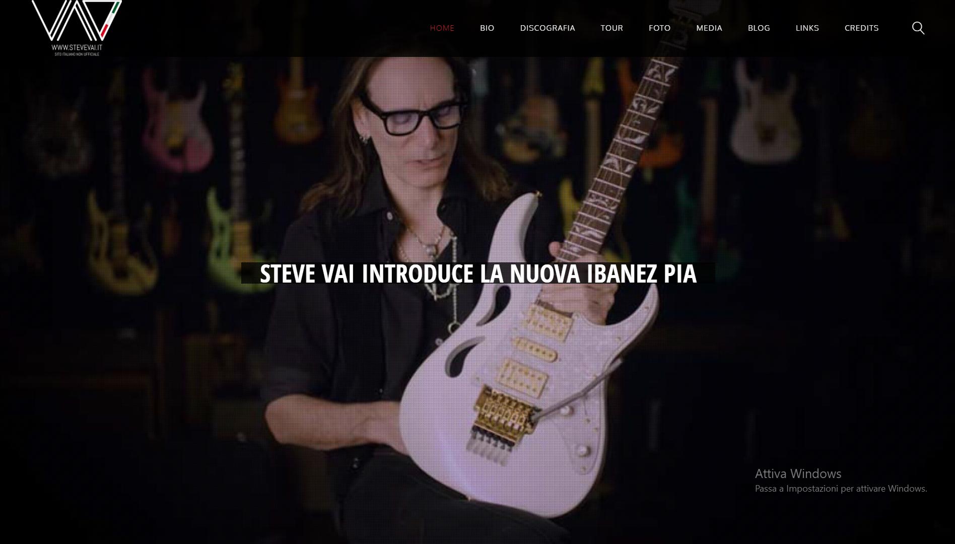 SteveVai.it - Gianluca De Bianchi - Jeanzilla